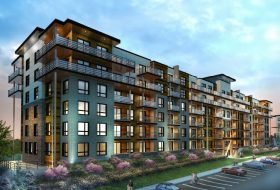 The Louvre – Brand New 1 Bed + Den Penthouse Condo, South Barrie